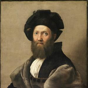 Baldassare Castiglione wearing a hat